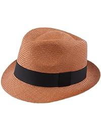 095f5848fd10c Amazon.es  Marrón - Sombreros Panamá   Sombreros y gorras  Ropa
