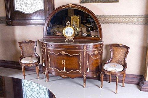 Credenza Con Vetrina Stile Inglese : Copia di sala da pranzo barocco stile antico vetrina credenza