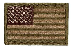 Multicam US Flag Sized Operator Cap Tactical Morale Patch Velcro Écusson Brodé Velcro Patch