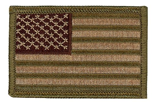 Hook Fastener Multicam US Flag Sized Operator Cap