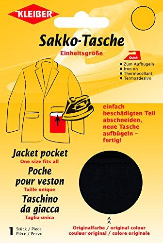 kleiber-patch-reparation-poche-veste-thermocollant-noir