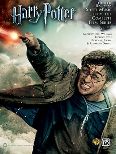 Harry Potter -- Sheet Music from the Complete Film Series: Five Finger Piano (Harry Potter Sheet Mucic)
