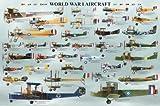 World War I Aircraft Artistica di Stampa (36 x 24)