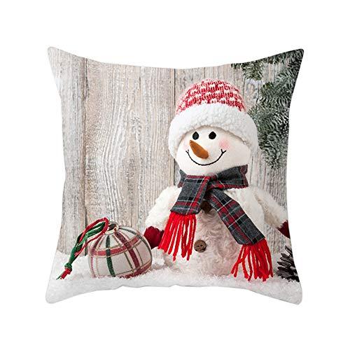 Yalatan Chaleco navideño para Hombres de Nieve