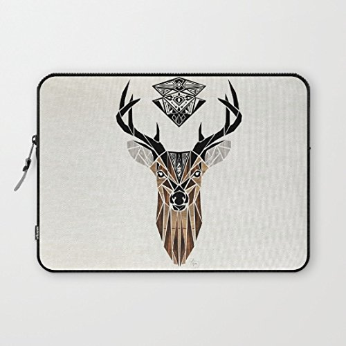 whiangfsoo-animales-ciervo-resistente-al-agua-suave-funda-de-neopreno-bolsa-funda-de-transporte-para