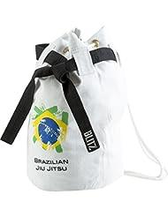 Blitz - Bolso de viaje, diseño de jiu jitsu, color blanco