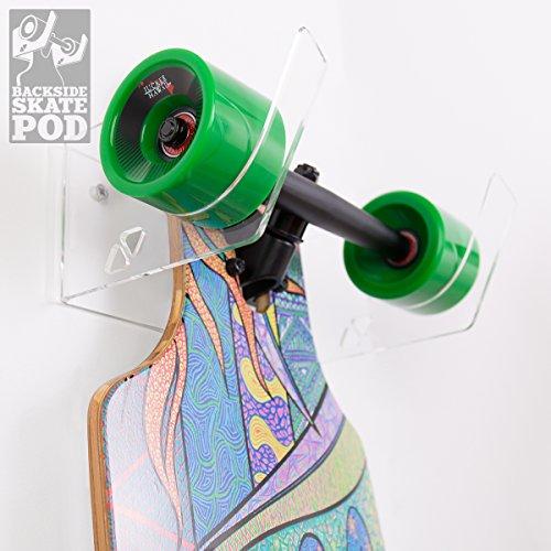 Preisvergleich Produktbild Wandkings SKATEPOD BACKSIDE,  Wandhalter für 1 Longboard,  Board Wandhalterung