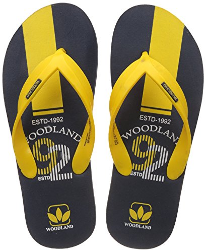 Woodland Men's Navy Flip Flops Thong Sandals - 7 UK/India (41 EU)  available at amazon for Rs.349