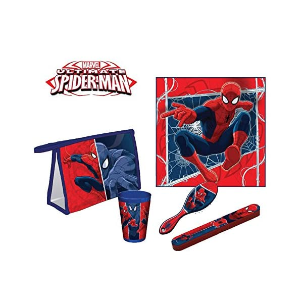 Set comedor Spiderman Marvel Ultimate
