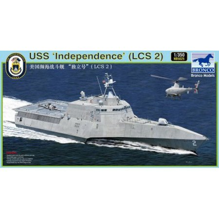 Bronco NB5025 - 1/350 LCS-2 Independence, Standmodellbau
