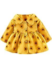 b2620b284 Amazon.co.uk  Multicolour - Coats   Jackets   Baby Girls 0-24m  Clothing