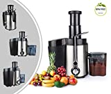 Leogreen - Power Juicer, Juice Maker, Silber, 500 W, Höchstleistung: 500 W, Standard/Zertifizierung: LVD