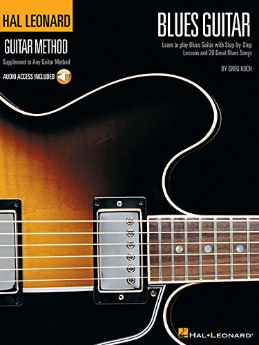 Hal Léonard guitar method: blues guitar guitare+CD (Hal Leonard Guitar Method)