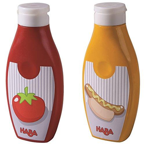 Haba Biofino Senf und Ketschup im Set für Kinderküche und Kaufmannsladen