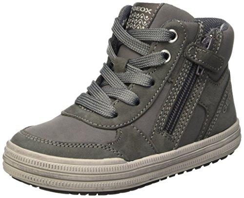 Geox Elvis B, Sneakers Hautes Garçon Grau (Grey/LT GREYC1318)