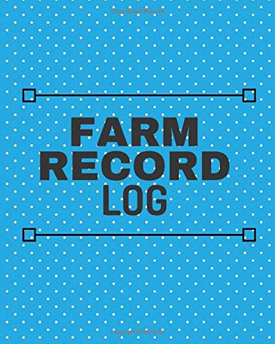 m Record Keeping Journal Organizer, Owned Equipment Inventory Notes, Crop, Seeds and Livestock Calendar Planners, 8