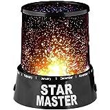 Samplus Mall Romantic LED Cosmos Star Master Sky Starry Night Projector Bed Light Lamp