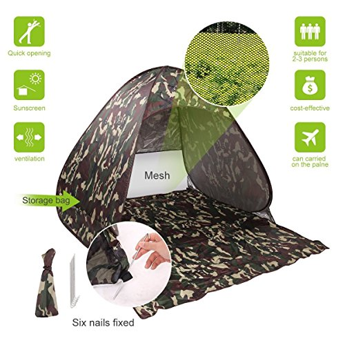 Stoga-T5-Quick-Automatic-Pop-Up-Tent-Instant-Portable-family-Beach-Tent-Outdoor-2-3-Persons-Camping-Fishing-Picnicing-Hiking-Sun-Shelter-for-Beach-Lake-Park
