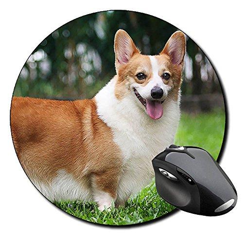 Corgi Gales De Pembroke Welsh Corgi Pembroke A Tappetino Per Mouse Tondo Round Mousepad PC