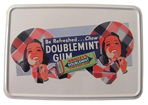 wrigleys-be-refreshed-chew-doublemint-gum-blechpostkarte-145-x-10-cm