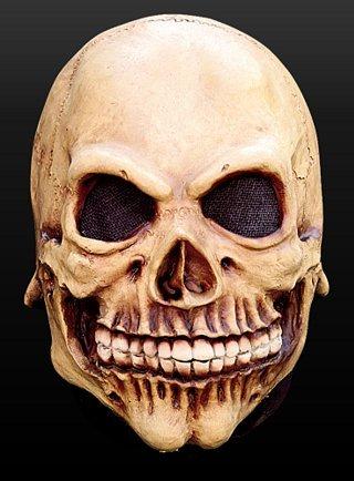 arty Kostüm Skelett Kindermaske Maske aus Latex (Süßigkeiten-schädel Halloween-kostüme)