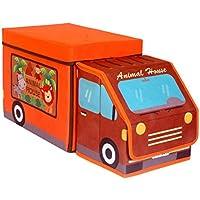 Kinder Spielzeug Aufbewahrungsbox Tier Pferd Faltbare Spielzeug Brust Speicherorganisator mit Kinder Spielmatte für Kinder Spielzeug Bücher preisvergleich bei kinderzimmerdekopreise.eu