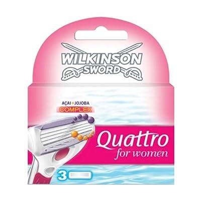 Wilkinson Sword 70041430 3 Blades Quattro for Woman