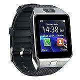 Akıllı Saat Telefon Cep Telefonu Kamera LCD Bluetooth 3.0 Akıllı Saat Android Sim Gümüş Spor Bisiklet Koşma 4410plata