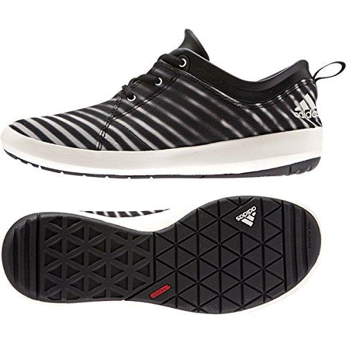 Adidas Satellize Wasserschuh, Dunkelgrau Heather / weiÃ? / schwarz, uns 6 M Black/Chalk White/Black