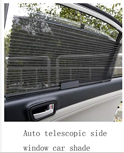 DUSRI BIWITM Car Side Window Sunshade Folding Sun Shade Shield Sun Uv Protection Dog Baby Roller Tear Resistant Shading Curtain