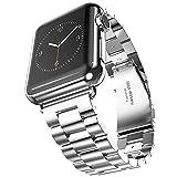 Evershop 42mm Apple Watch Band für Apple Watch 1 2 3, Edelstahl Uhrenarmband Armband Wiedereinbau...