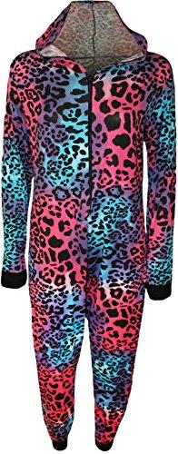 Comfiestyle - Combinaison - Combinaison - Manches Longues - Femme Multi Leopard