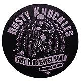 Retro Vintage Aufkleber -Finest Folia Sticker Old School Ace Kult Rockabilly (#6 Rusty)