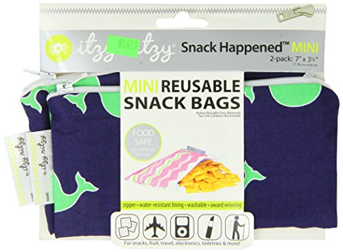 itzy-ritzy-snack-happened-mini-reusable-snack-bag-whale-watching-blue-pack-of-2