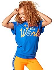 Zumba Fitness We Move The World Unisexe Thé, Femme, We Move The World Tee