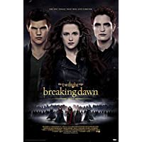 Twilight Breaking Dawn 2 Poster (68cm x 98cm) + 1 pair of black poster hangers