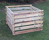 Wooden Composter Large