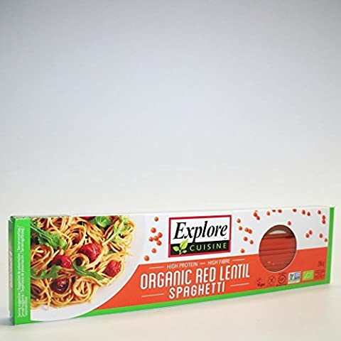 Explore Cuisine | Red Lentil Spaghetti | 2 x 12 x 250g