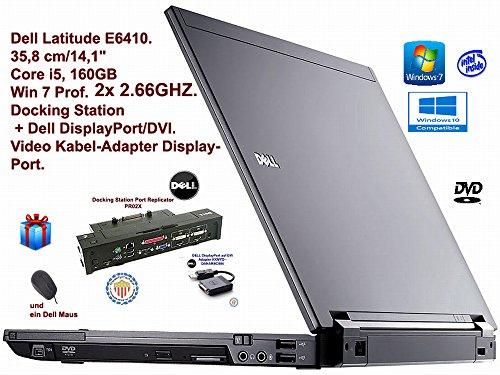 Dell Latitude E6410 14,1 Zoll Notebook (Core i5 2.66GHz, 4GB RAM, 160GB HDD, DVD-ROM, WLAN Win 7)