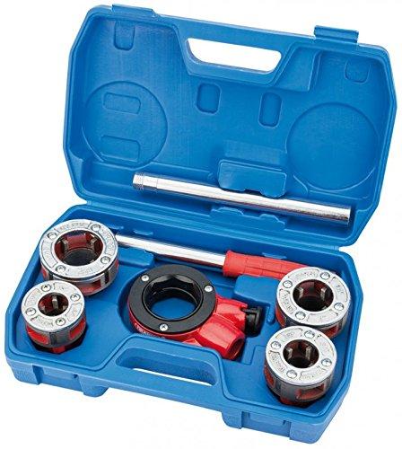 Draper 22498 - filiera a cricco per tubi, sistema di misurazione imperiale, 7 pezzi