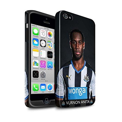Officiel Newcastle United FC Coque / Brillant Robuste Antichoc Etui pour Apple iPhone 4/4S / Pack 25pcs Design / NUFC Joueur Football 15/16 Collection Anita