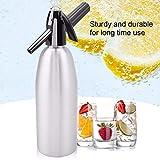 FeiKe máquina de Soda portátil de 1 litro, máquina de Agua de Burbujas carbonatadas, para Hacer cócteles, Soda y sifón, Herramientas de Barra
