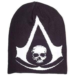 Bonnet 'Assassin's Creed IV : Black Flag' - Imprimé - noir