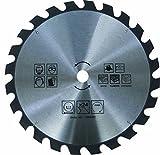 HM Kreissägeblatt 100 mm 24 Zähne Wellendurchmesser 30 mm inkl. Reduzierringe 30 auf 25,2 mm / 22,23 mm / 20 mm / 16 mm TCT Sägeblatt