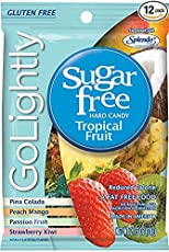 Golightly Tropical Fruit Sweetened with Splenda Hard Candies 78 gm Free ChocoKick Eco Friendly Pen