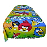 Angry Birds Kids Single Bedsheet With 1 ...