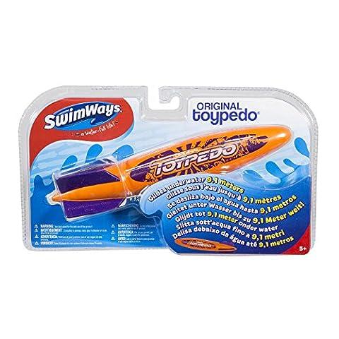 SwimWays - 6038049 - Toypedo Original -Jeu de Piscine, Natation