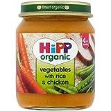 Hipp Légumes Biologiques Avec Du Riz Et Poulet 4 + Mois 125G