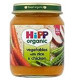 Hipp Bio-Gemüse Mit Reis Und Huhn 4+ Monate 125G
