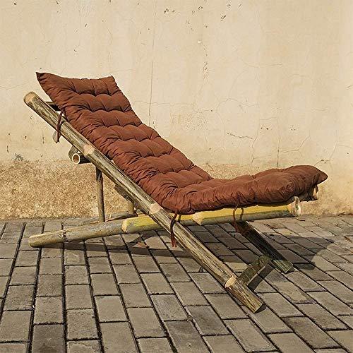 SXYULQQZ Bambusstuhl Klappstuhl Bambusstuhl Alter Mann Rückenlehne am kühlen Stuhl Einzelklappstuhl Bambusmöbel Mittagspause Balkonstuhl Liege, 2 Stile optional / - / (Farbe: B)